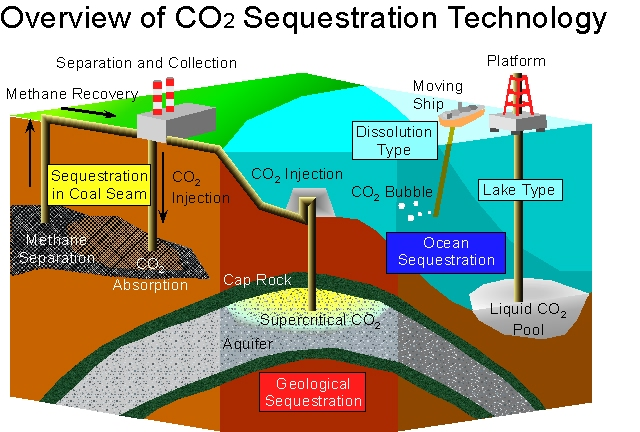 essay on carbon sequestration technologies