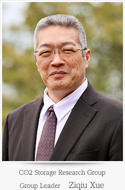 CO<sub>2</sub> Storage Research Group Group Leader Ziqiu Xue
